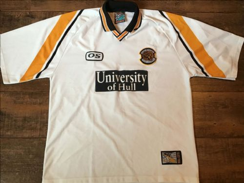1998 1999 Hull City  Away Football Shirt XL